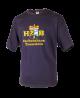 T-Shirt mit 4 Farblogo